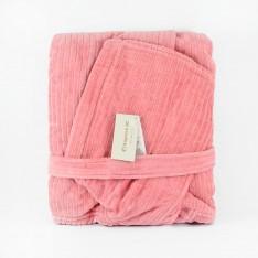 Халат Джинс Пепел от Рози + Луксозна кутия