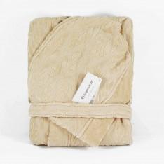 Халат LEAF капучино + луксозна кутия