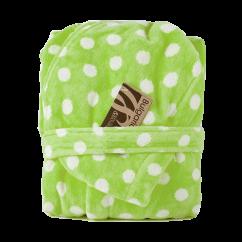 Παιδικό μπουρνούζι Spot πράσινο