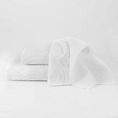 Set bath towels - white