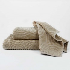 Set bath towels - cappuccino