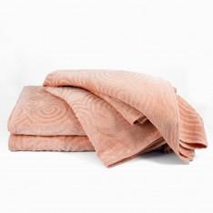 Πετσέτες μπάνιου Circle Peach