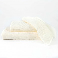 Set bath towels - ecru