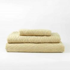 Хавлиена кърпа LEAF - Kaпучино
