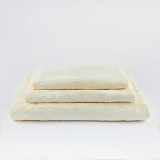 Хавлиена кърпа LEAF - Екрю