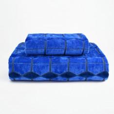 Хавлиена кърпа Тексчър - Син