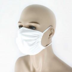 Reusable protective mask with pocket