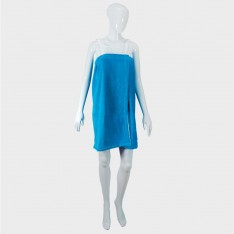 Lady`s towel tunik - blue